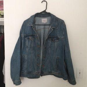 Old navy dark blue jean jacket